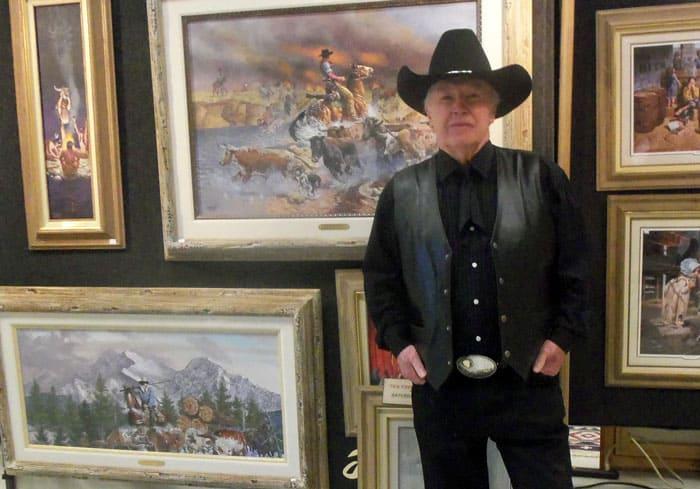 The Oldfield Art Show Best Art Display Winner