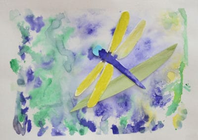Dragonfly, age 7