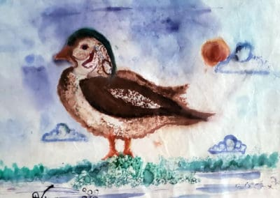 Duck!, age 11