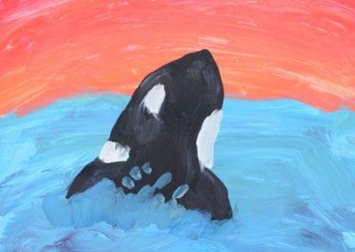 Oraca Painting, age 9