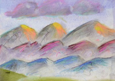 Rolling Hills, by Mastering Your Art Student, age 13