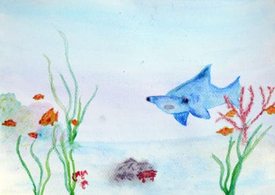 Under the Sea Painting, age 11