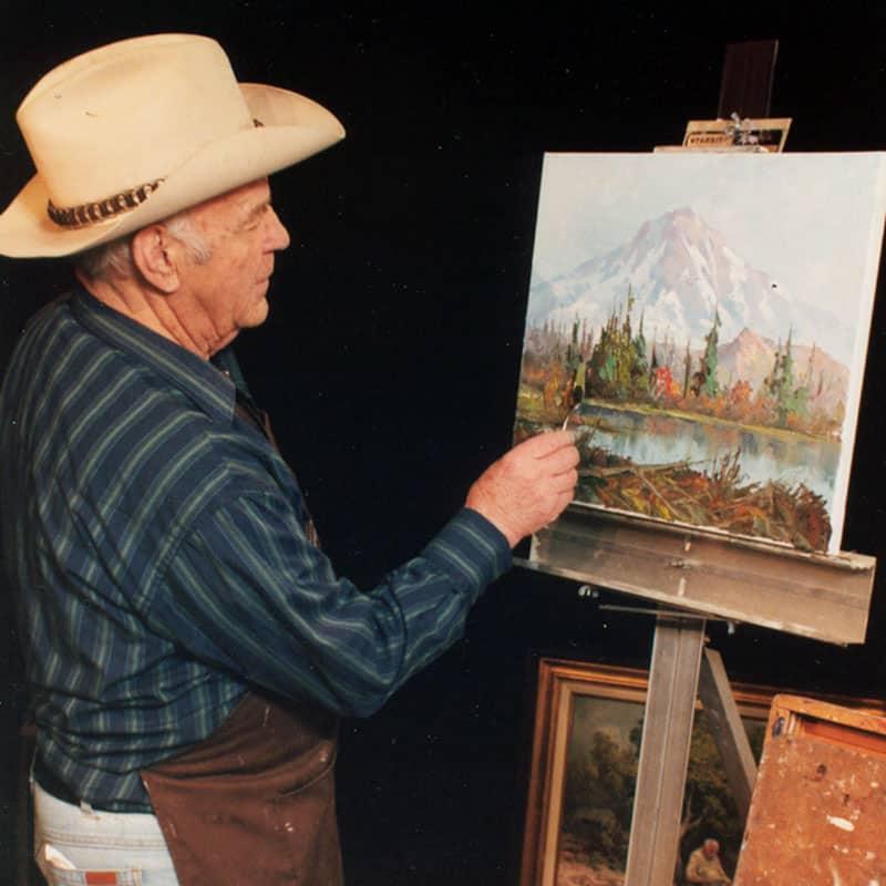 Western Artist, Fred Oldfield