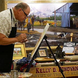 The Oldfield Art Show, Western Art